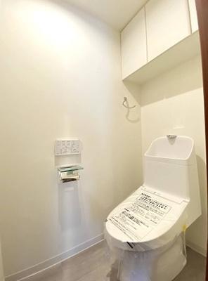 アクシルコート上野のトイレです。