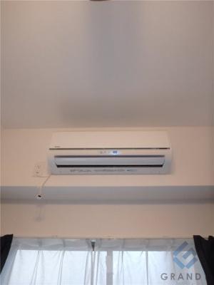 もちろんエアコンも完備