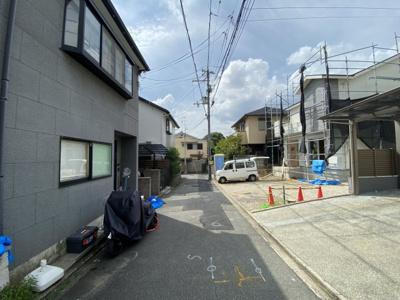 【前面道路含む現地写真】京都市伏見区深草中ノ島町