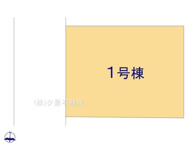 【区画図】川口市前川1丁目4-29(全1戸)新築一戸建てリーブルガーデン