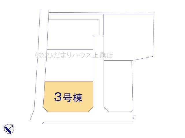 【区画図】鴻巣市境 新築一戸建て リーブルガーデン 03