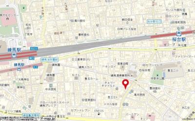 【地図】ノイメゾン桜台