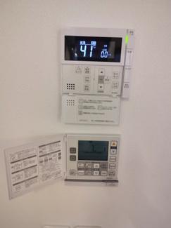 自動お湯はり・床暖房機能