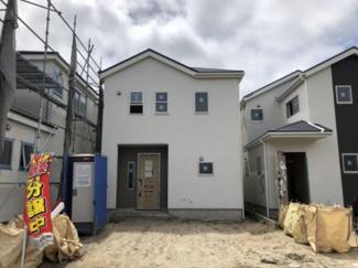 碧南市伏見町Ⅱ新築分譲住宅2号棟写真です。2021年8月撮影