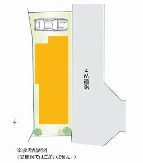 【区画図】板橋区大谷口北町 新築戸建