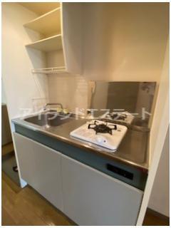【キッチン】CIAO! 駅近 バストイレ別 オートロック 室内洗濯機置場