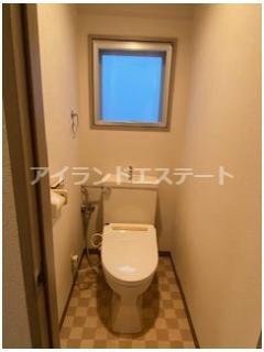 【トイレ】CIAO! 駅近 バストイレ別 オートロック 室内洗濯機置場