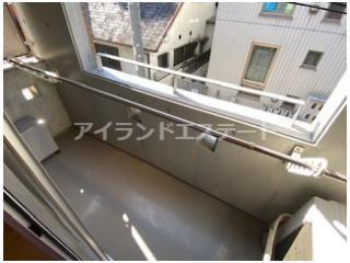 【バルコニー】CIAO! 駅近 バストイレ別 オートロック 室内洗濯機置場