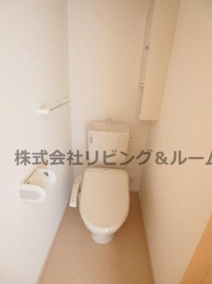 【トイレ】エムズ サニー ガーデンⅩⅢ
