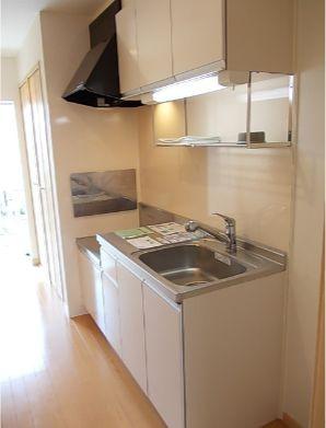 キッチンもきれいですね