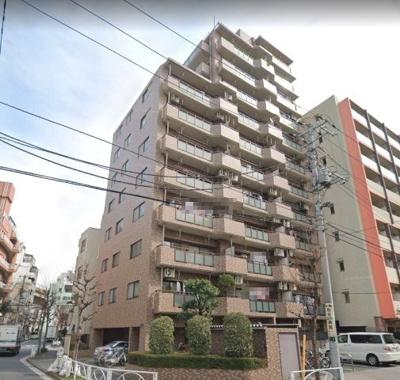 【外観】モナークマンション両国隅田川 4階 角部屋 リフォーム済 1997年築