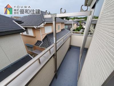 【バルコニー】神戸市西区学園東町 新築戸建 2棟分譲開始しました