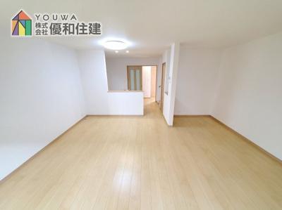 【居間・リビング】神戸市西区学園東町 新築戸建 2棟分譲開始しました