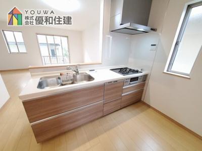 【キッチン】神戸市西区学園東町 新築戸建 2棟分譲開始しました