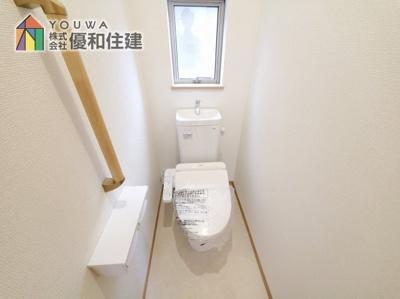 【トイレ】神戸市西区学園東町 新築戸建 2棟分譲開始しました