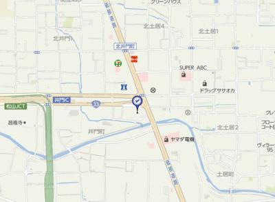 【地図】ミルキーウェイ