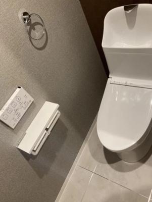 エテルナハウス田原町のトイレです。