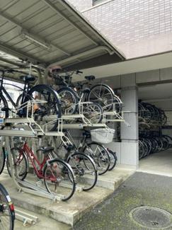 【駐輪場】コスモ武蔵浦和クレスト