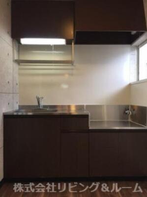 【キッチン】ウォーターフロント・A棟