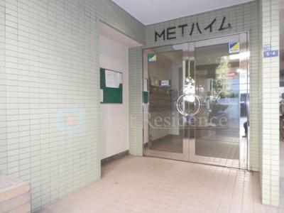 【エントランス】METハイム
