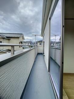 【バルコニー】三島市青木3期 新築戸建 全2棟 (2号棟)