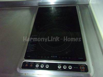 ☆レオパレス和のキッチン☆使いやすい電磁調理器です。