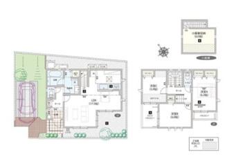 7号棟:一年中家の温度を快適にする「Z空調」の住まいです。