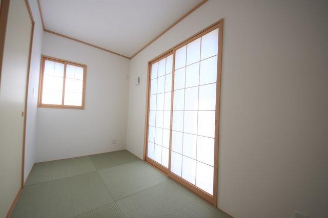2号棟 和室があれば客間としても活用できます