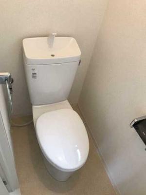 【トイレ】マノワール小佐野 ファミリー向け 2人入居可 独立洗面台