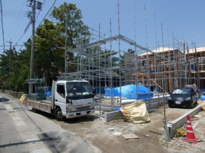 碧南市伏見町Ⅱ新築分譲住宅6号棟写真です。2021年7月撮影