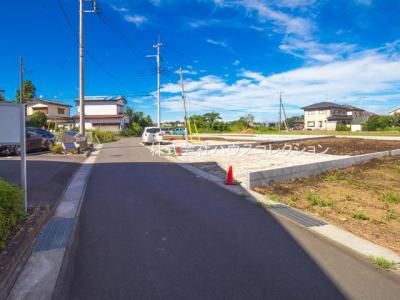 【前面道路含む現地写真】土浦市乙戸 新築戸建