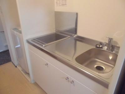 <IH&ラジエントヒーター付コンロ>掃除もし易く衛生的です