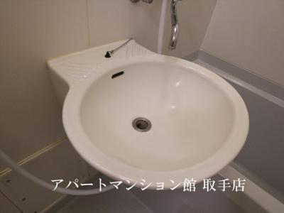 【洗面所】レオパレスラーク取手