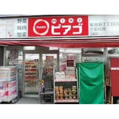 スーパー「miniピアゴ東池袋2丁目店まで491m」