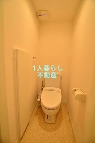 おしりにやさしいウォシュレット付きトイレです