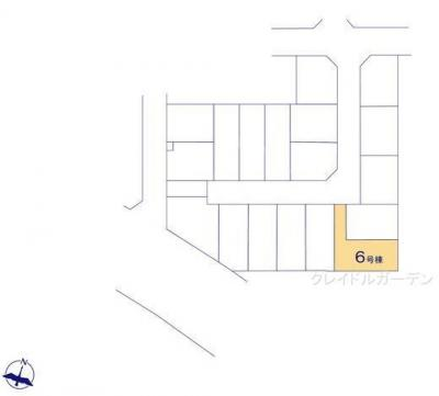 【区画図】クレイドルガーデン神戸市垂水区青山台第5