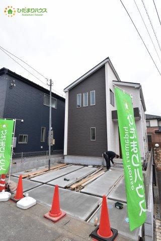 上尾市井戸木 3期 新築一戸建て グラファーレ 01