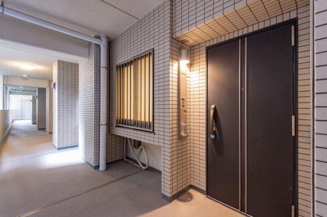 【玄関】コスモ上野パークサイドシティ