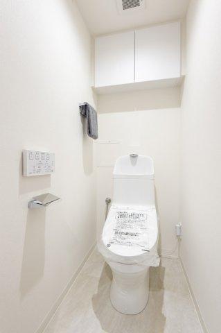 コスモ上野パークサイドシティ:ウォシュレット機能付きトイレです!