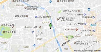 【地図】レジデンスミネ (株)Roots