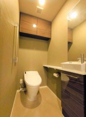 シティハウス品川サウス のトイレです。