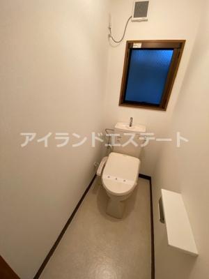 【トイレ】メゾン・ド・アゼリア ファミリー向け 事務所相談可 内装リフォーム済み