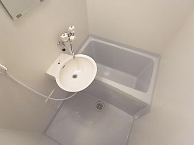 【浴室】ブルーガーデン