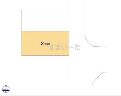 【区画図】ハートフルタウン高槻市南松原町