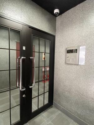 TSマンションの入り口です