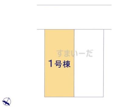 【区画図】ハートフルタウン神戸市西区学園東町