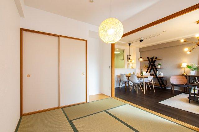 【現地写真】  タタミ新品♪ リフォーム済み♪ 全室クロス・全室フローリング貼り替え済み♪