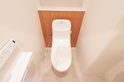 トイレ一式新調いたしました♪