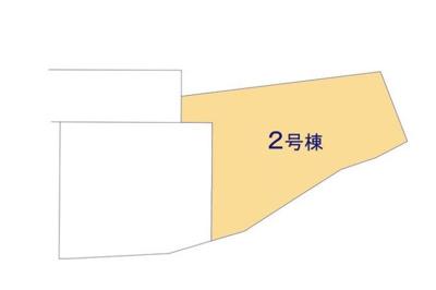 2号棟 全室フローリング仕様 日当たり良好な全室南向き