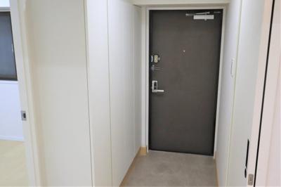 スッキリとした玄関♪
